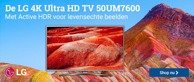 LG 4K UHD TV 50UM7600