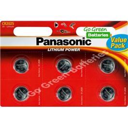 Panasonic batterij CR2025X6 kopen