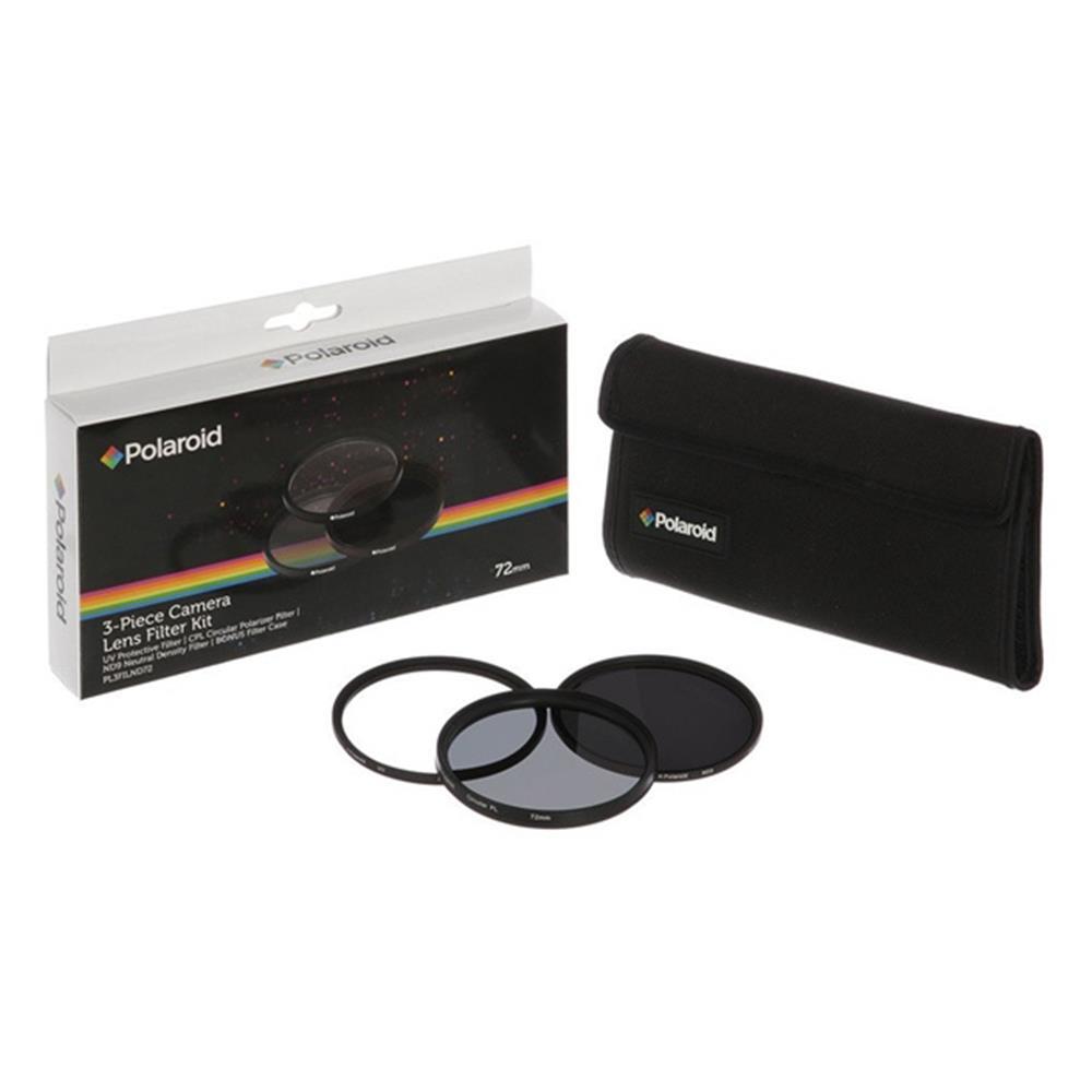 Polaroid 72MM FILTERKIT UV, POLA, ND9