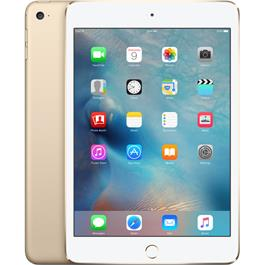 Apple iPad mini 4 128 GB Wifi (Goud)
