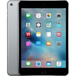 Apple iPad Mini 4 - 128 GB - Wi-Fi + Cellular - Spacegrijs