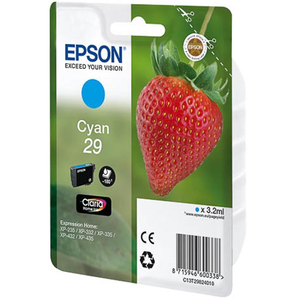 Epson cartridge T2982 CYAN