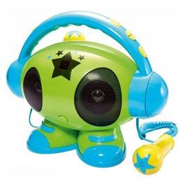 Bigben Interactive Big Ben, Robot Karaoke MP3-USB (Blauw) (ROBOT01)