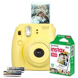 Instax Mini 8 Set gelb