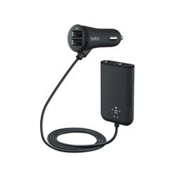 Car Charger 7.2A + Extension