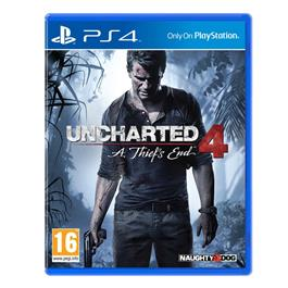 Uncharted 4 A Thief apos;s End PS4