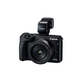 Canon systeemcamera EOS M3 18 55 IS Viewfinder