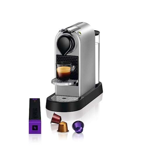 Nespresso Krups koffieapparaat CitiZ XN740B (Zilver)