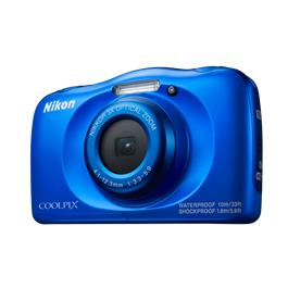 Nikon compact camera Coolpix W100 blauw