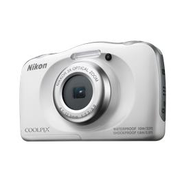 Nikon compact camera Coolpix W100 wit