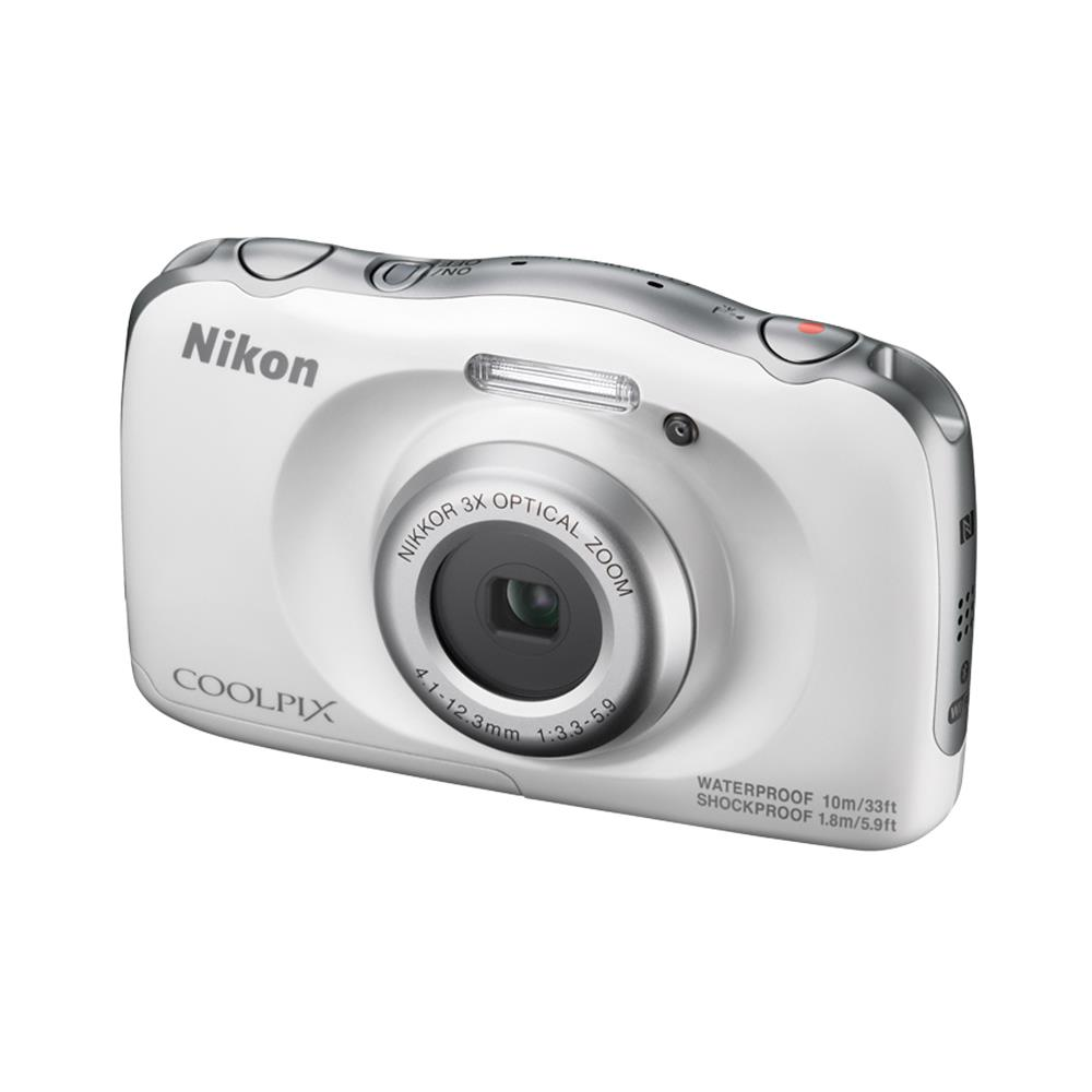 Nikon compact camera Coolpix W100 (wit)