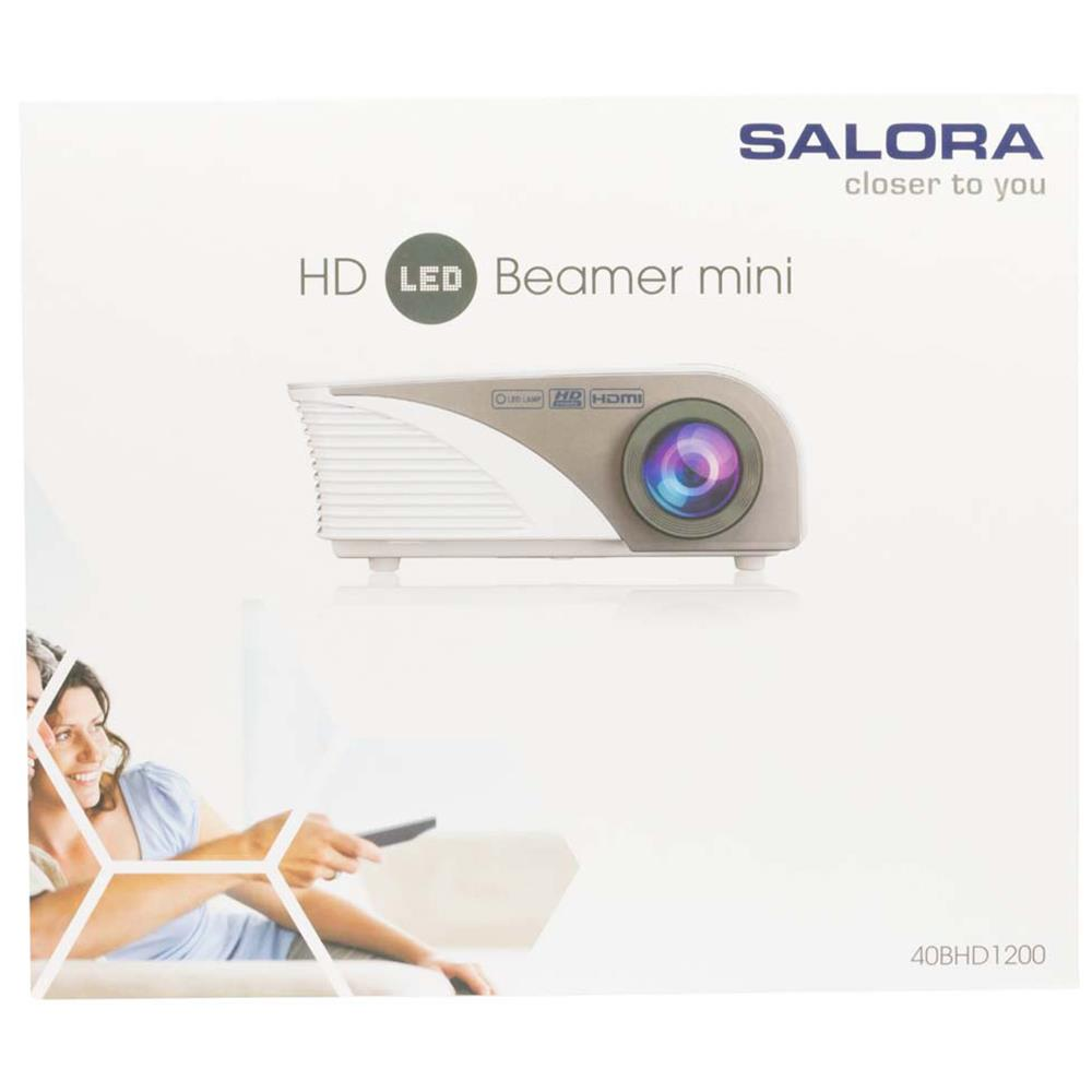 Salora beamer 40BHD1200
