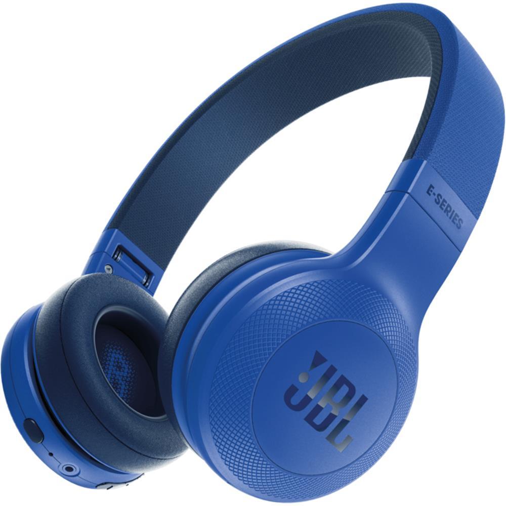 jbl koptelefoon. jbl draadloze hoofdtelefoon e45bt (blauw) jbl koptelefoon d