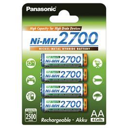 Panasonic oplaadbare batterij PILRE HIGH AA