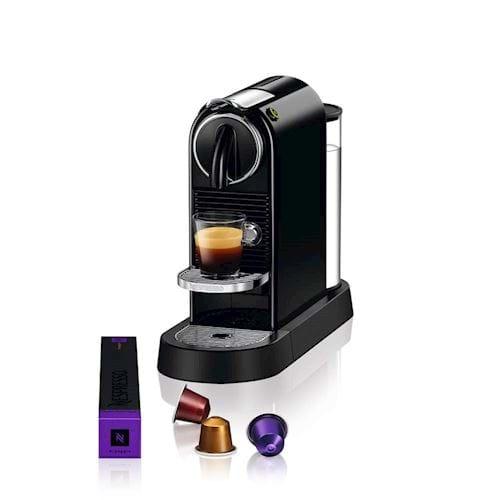 Nespresso Magimix koffieapparaat CitiZ M195 (Zwart)
