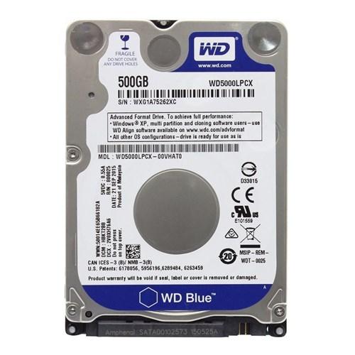 Western Digital 2,5 int.HDD Blue 500GB