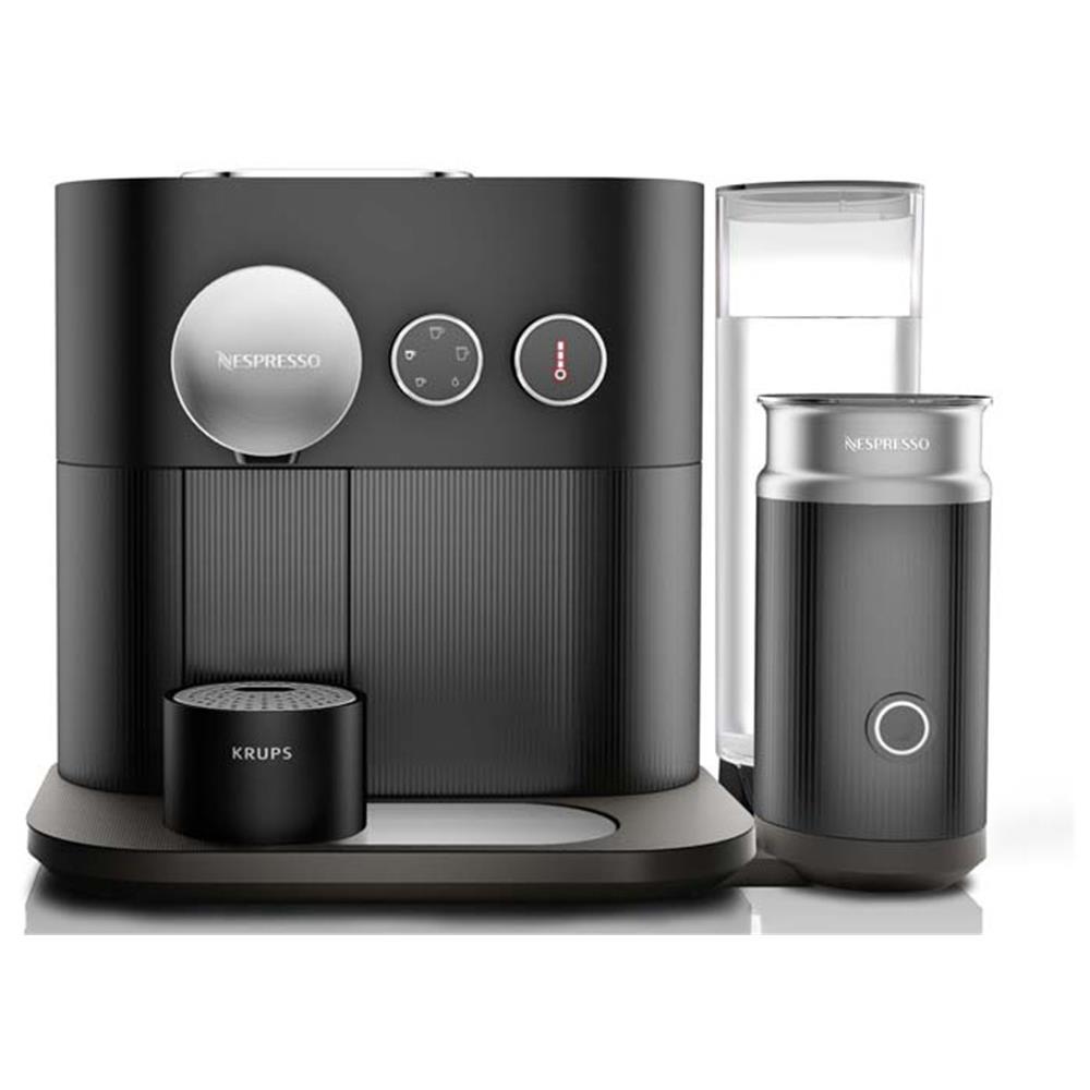 krups nespresso apparaat xn6018 expert milk zwart. Black Bedroom Furniture Sets. Home Design Ideas