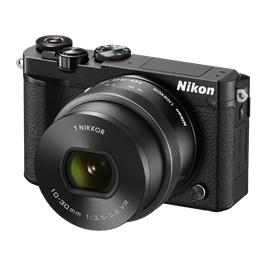 Nikon Digitale camera 20.8 Mpix Zwart Incl. 1 Nikkor VR 10-30 mm lens
