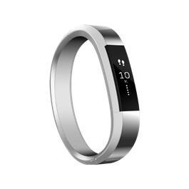 Fitbit Alta Metal Polsband Silver Small