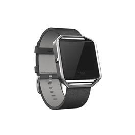 Fitbit Blaze Polsband Leather Black L