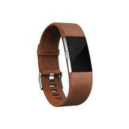 Fitbit Charge 2 Leather Polsband Large