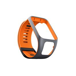 TomTom horlogebandje Large (grijs/oranje)