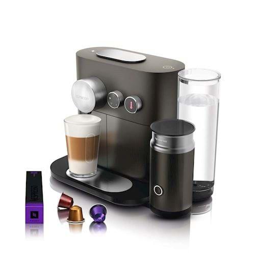 Nespresso Magimix koffieapparaat Expert & Milk M500 (Grijs)
