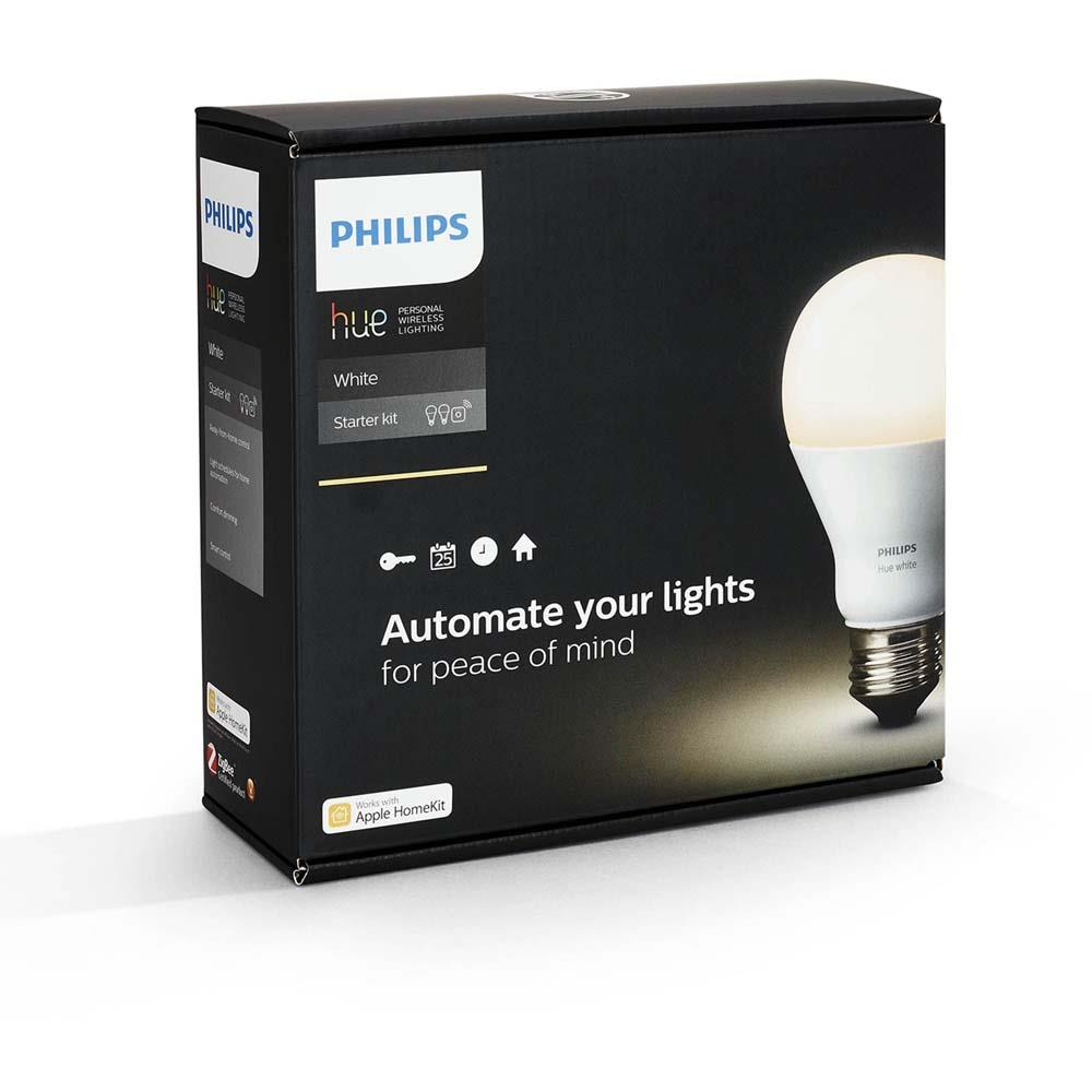 philips sfeerverlichting hue a60 e27 set eu white. Black Bedroom Furniture Sets. Home Design Ideas