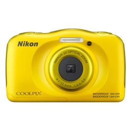 Nikon compact camera COOLPIX W100 geel