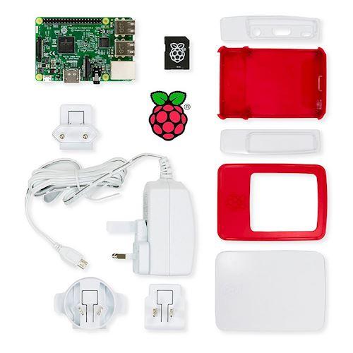 Navstar mediaplayer RASPBERRY PI 3 Essential Kit