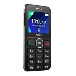 Alcatel mobiele telefoon 20.08G zilver zwart