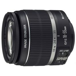 Canon objectief EF S18 55mm F 3.5 5.6 IS II