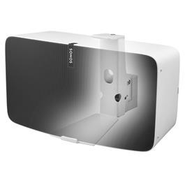 Cavus horizontale muurbeugel voor Sonos PLAY:5 Wit