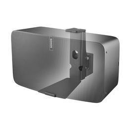 Cavus horizontale muurbeugel voor Sonos PLAY5 Zwart