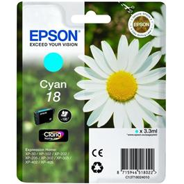 Epson cartridge 18 CYAN