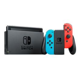 Nintendo gameconsole SWITCH (Rood/Blauw)