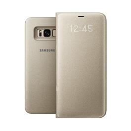Samsung telefoonhoesje LED VIEW COVER S8+ GOUD