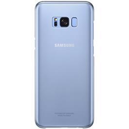 Samsung telefoonhoesje CLEAR COVER S8+ BLAUW