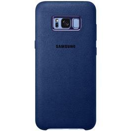 Samsung telefoonhoesje ALCANTARA COVER S8+ BLAUW