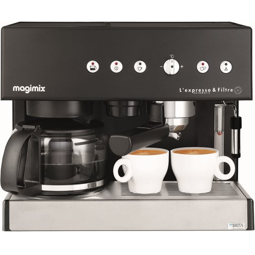 Magimix L'Expresso Automatic & Filter 11422 (zwart)