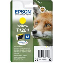 Epson cartridge RENARD JAUNE T1284