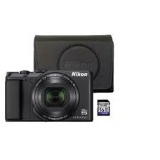 Nikon compact camera A900 INCL. TAS 16 GB SD KAART
