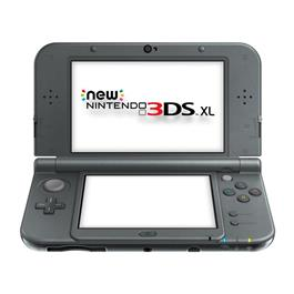 New 3DS XL Noir Mtallique