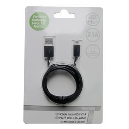 Temium lader MICRO USB KABEL BL