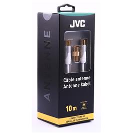 JVC antennekabel COAXIAL CABLE WHITE MALE MALE ADAPTOR FEMALE FEMA