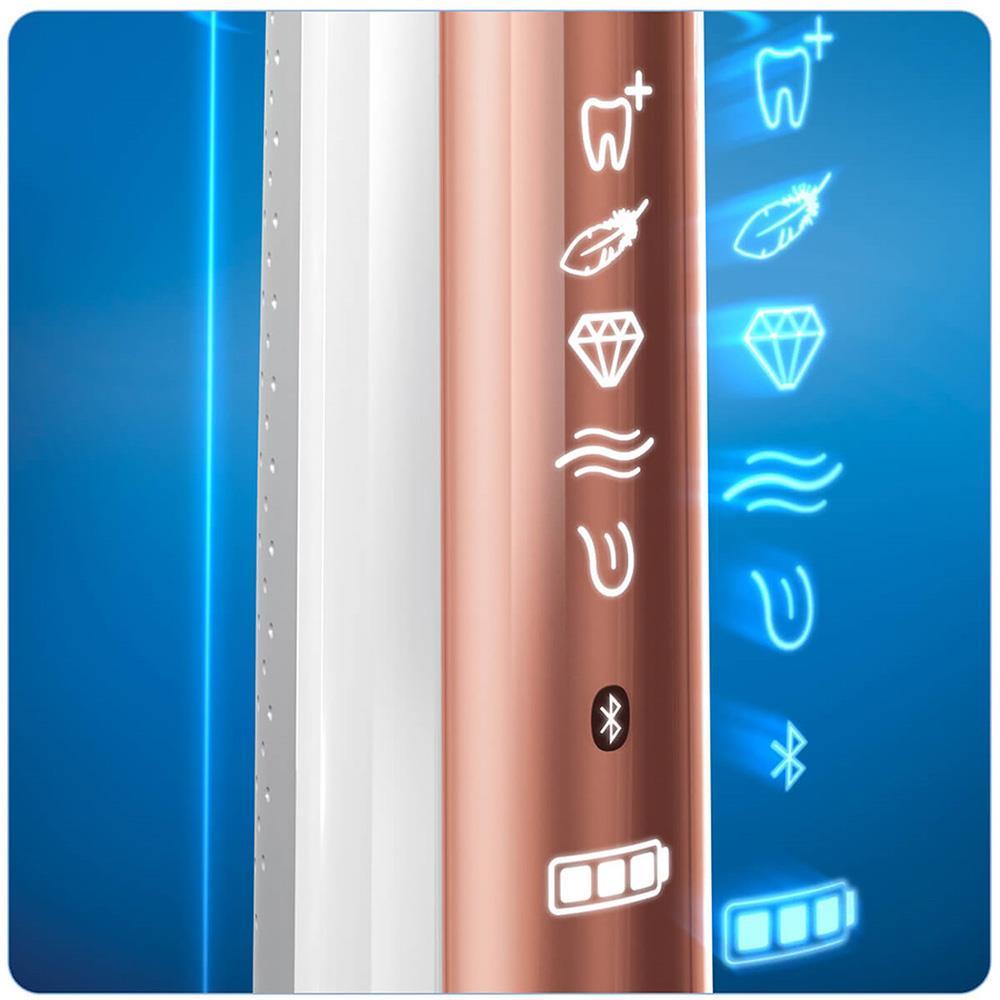Oral-B elektrische tandenborstel Genius 9000S (Roségoud)