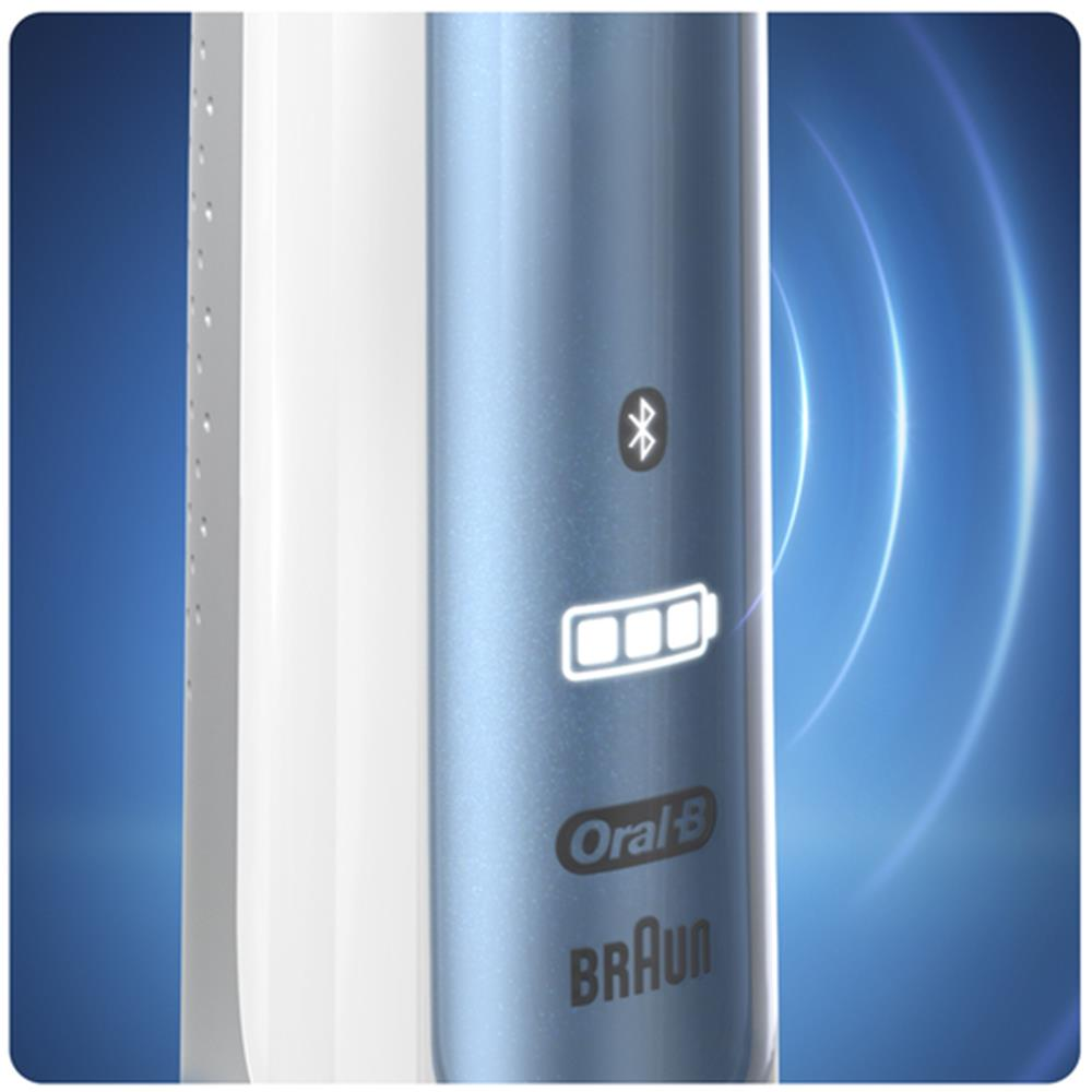 Oral-b elektrische tandenborstel SMART 6 6100S WHITE/BLUE