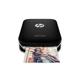 HP Sprocket Photo Printer ZINK (Zero ink) 313 x 400DPI Zwart fotoprinter