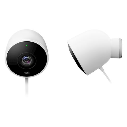 Nest beveiligingscamera Cam Outdoor 2 pak