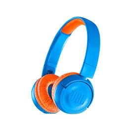 JBL draadloze hoofdtelefoon JR300BT Blauw